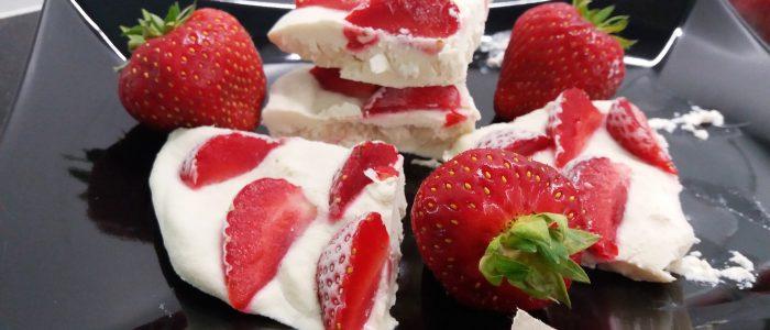 Reseptejä ja treenejä: Frozen yogurt riisiproteiinilla