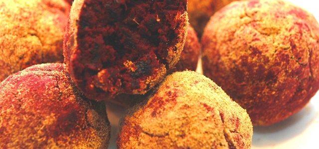 Reseptejä ja treenejä: helpot lakritsi-punajuuritryffelit (gluteeniton ja maidoton)