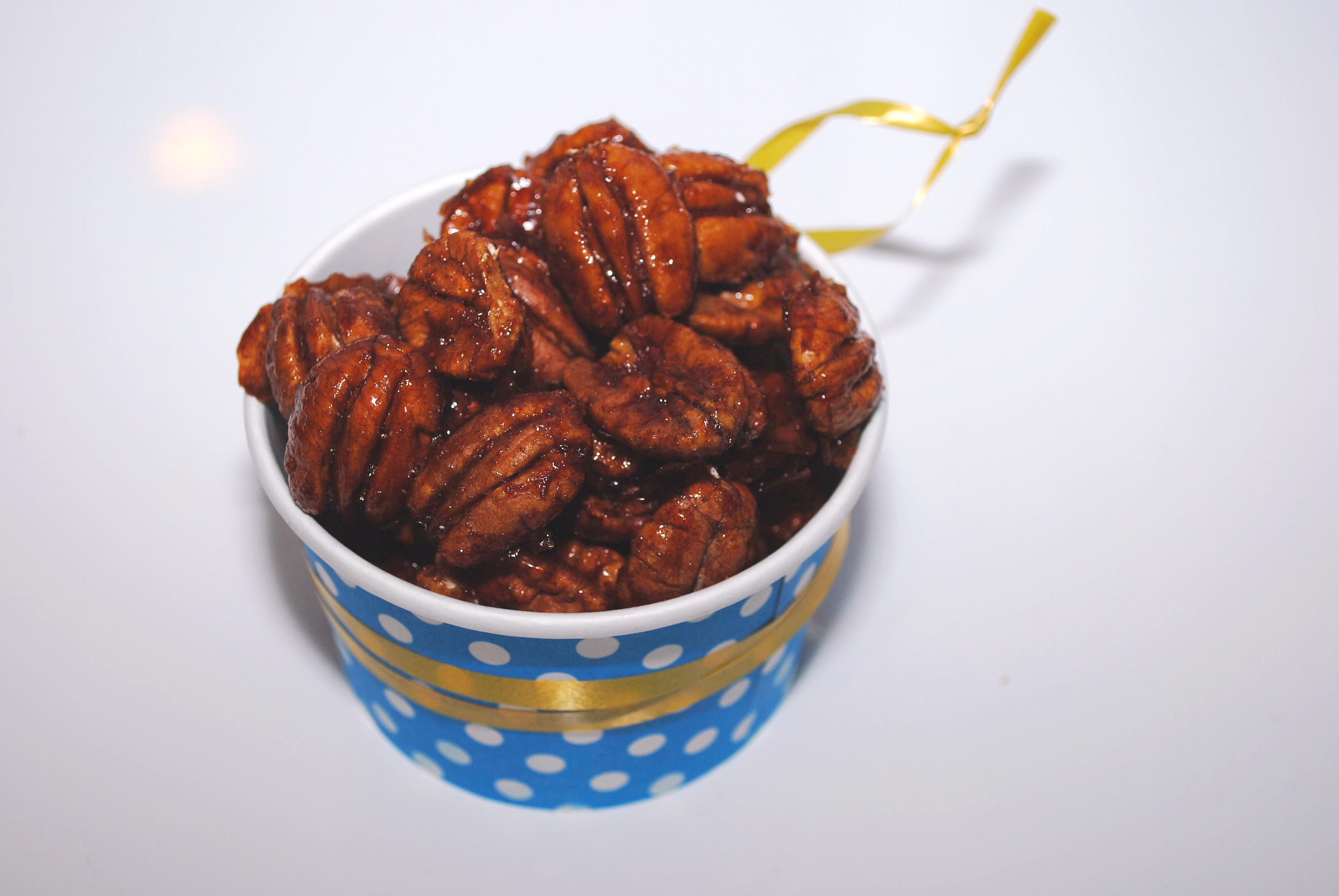 Reseptejä ja treenejä: Jouluiset pekaanipähkinät