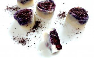Reseptejä ja treenejä: Terveelliset marjaisat kookosraakasuklaat
